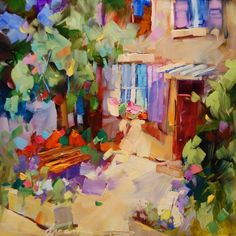 A Little Piece of Provence, painting by artist Dreama Tolle Perry