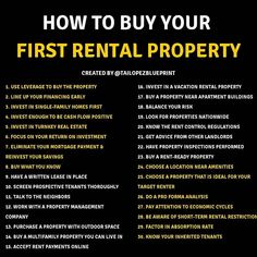 Do your research, take your time, and read the tips Share this to your story so you can be helping and Reaching Many people 😍 Do You want… Investment Tips, Investment Property, Rental Property, Investing Money, Real Estate Investing, Business Planning, Business Tips, Business Money, Dallas