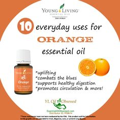 Young Living Orange Essential Oil