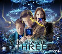 Note the smaller squares DOCTOR WHO SERIES SEVEN EPISODE FOUR THE POWER OF THREE MOVIE STYLE POSTER