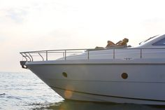 GAFFE is a luxury motor yacht available for charter in Italy, Naples, Sicily, built in Luxury accommodation is for 9 guests in 4 cabins! Book a yacht charter now with Contact Yachts! Motor Yacht, Luxury Accommodation, Yachts, Naples, Sicily, Cabin, Sea, Vacation, Building