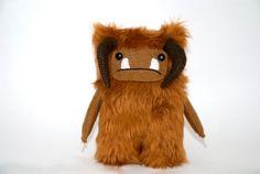 Labyrinth Ludo Fur Goblin Ooak David Bowie Jim Henson by peludossa, $25.00