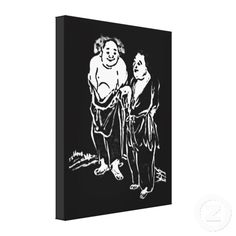 Chinese Poets Gallery Wrap Canvas