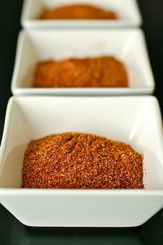 Homemade Taco Seasoning 4 tbsp. chili powder 3 tbsp. 1 tsp. paprika 3 tbsp. ground cumin 1 tbsp. 2 tsp. onion powder 1 tsp. garlic powder ¼ tsp. cayenne pepper Combine all ingredients in a bowl, and mix well to blend. Store in an airtight container until ready to use.