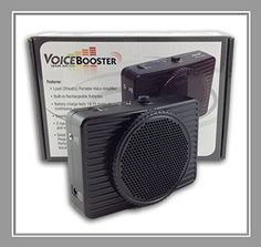 VoiceBooster Voice Amplifier 20watts Black MR2300 (Aker) by TK Products, Portable, for Teachers, Coaches, Tour Guides, Presentations, Costumes, Etc. Voice Booster http://www.amazon.com/dp/B005QUF0C2/ref=cm_sw_r_pi_dp_GpMvvb07AG9B2
