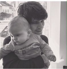 ben whishaw and a baby