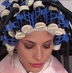 Updo Styles, Hair Styles, Sleep In Hair Rollers, Wet Set, Hot Rollers, Perm Rods, Bobe, Roller Set, Curlers