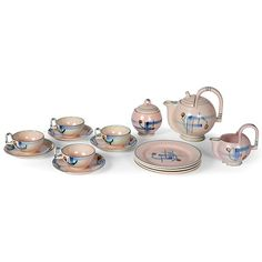 Eva Zeisel coffee set, 1928, produced by Schramberg,