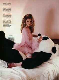Kate Moss for Glamour Magazine   France, 1992