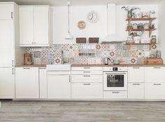Kitchen Room Design, Diy Kitchen Decor, Modern Kitchen Design, Kitchen Layout, Rustic Kitchen, Kitchen Furniture, Small House Interior Design, Interior Design Kitchen, Modern Kitchen Interiors