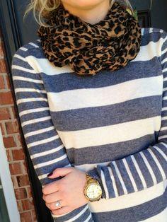 leopard & stripes.