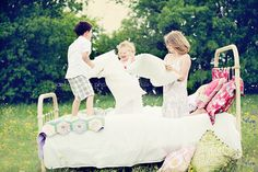 @Tiffany Richey @Chrissi Shields I think the kids need a photo session like this!