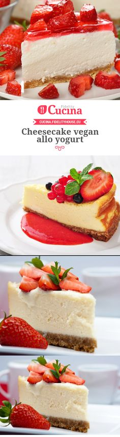 Cheesecake vegan allo yogurt