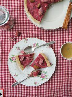 tarte aux pralinés roses pink praliné tart
