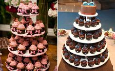 Substitua o bolo decorado por uma torre de cupcakes – é lindo e é tendência! - Blog 15 anos Página comidas-e-bebidas - CAPRICHO
