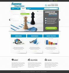 New website or app design wanted for Summa Energy Solutions by Web UI Design