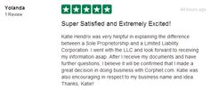 Thanks so much to Yolanda for the excellent 5-star review!