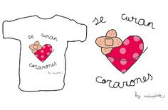 se curan corazones, by misspink Onesies, Logo Pink, Sweet, Motivational, Design, Ideas, Costumes, Block Prints, Frases