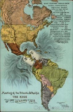"""""""The Kiss"""" - Meeting of the Atlantic & Pacific"""