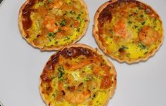 Régime Dukan (recette minceur) : Quiches aux crevettes #dukan http://www.dukanaute.com/recette-quiches-aux-crevettes-12227.html