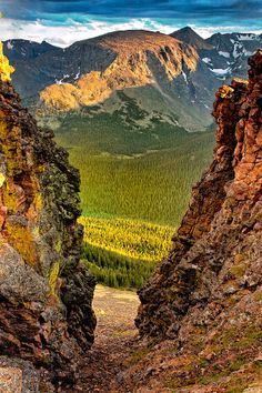 ✯ Rock Cut After the Storm - Rocky Mountain National Park, Colorado