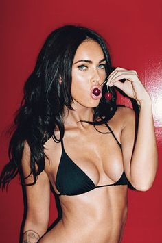 Megan Fox. (Terry Richardson/GQ)