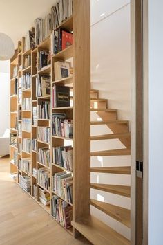 Image 2 of 21 from gallery of Loft / Studio. Photograph by Sonia Mangiapane and Peik Li Pang Image 2 of 21 from gallery of Loft / Studio. Photograph by Sonia Mangiapane and Peik Li Pang Loft Stairs, Stairs To Attic, Loft Railing, Tiny House Stairs, Attic House, Basement Stairs, Loft Room, Bedroom Loft, Attic Rooms