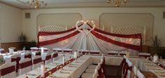 #wedding #esküvő #hochzeit #weddingbackground #esküvőiháttérdekoráció Background Decoration, Wedding Background, Chandelier, Ceiling Lights, Table Decorations, Lighting, Home Decor, Wedding, Candelabra
