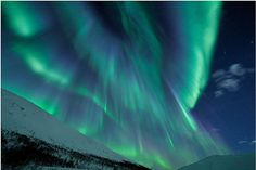 The midnight phoenix rises: Biggest solar storms for six years create spectacular northern lights