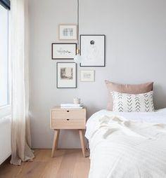 El antes y el después de un dormitorio en Amsterdam. Interiorismo de Holly, avenuelyfestyle.com