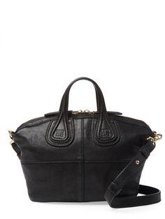 Black Leather Nightingale Micro from Vintage Spotlight  The Mini Handbag on  Gilt Mini Handbags 647ffd70cd771