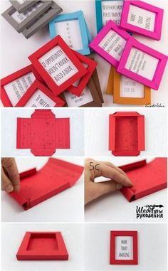 рамки из бумаги