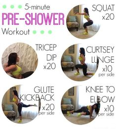 Quick and Easy workouts for Busy Moms