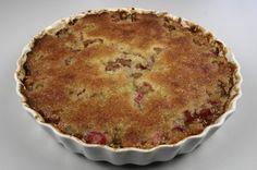 klik for at komme tilbage Danish Dessert, Rhubarb Recipes, Bread Cake, Cookie Desserts, Cake Cookies, No Bake Cake, Cake Recipes, Cooking Recipes, Sweets
