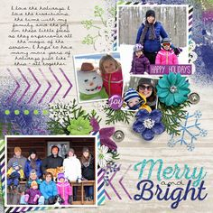 Kit: All That Glitters by Juno Designs - Template: Mystified by Fiddle Dee Dee - Page design by To Be Remembered Designs
