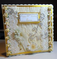 If you need any help with your Card Making please post a comment, and I will get back to you as soon as I can. Shabby Chic Cards, Vintage Shabby Chic, Handmade Cards, Your Cards, Birthdays, Card Making, Craft Ideas, Crafty, Paper
