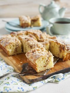 Gluten Free Apple Coffee Cake - It's perfect for an autumn morning or a delicious dessert. You won't miss the regular version, it's that good!