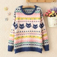 Fabric: Cotton Blend Color: Green, Pink Size: Free Bust 100cm, Length 58cm, Sleeve 61cm,