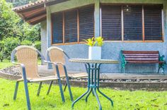 Sitting area  Casa Corcovado Near Corcovado National Park Osa Peninsula Costa Rica #travel #vacation #family