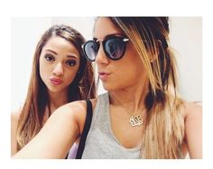 niki and gabi ~ when you can channel the Jenners and even ariana grande, you'd be called trendy