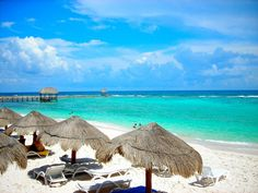 Riviera Maya Beach--- I loved going there for several years.  Time to go again.