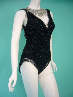 Burlesque Costume Bead Encrusted 1950s... I want it!!! Argh!!!