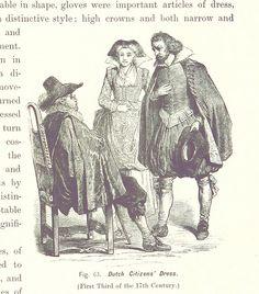 Kleidung des niederländischen Bürgertums, Anfang des 17. Jahrhunderts