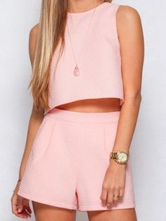 Rose Crop Top  | Separates | sassyshortcake.com | Sassy Shortcake