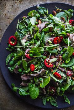 Sesame Steak Salad Try with spinach!