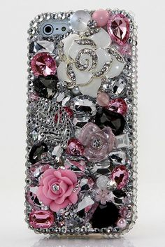 Never Leaf You design iPhone 5 / 5s/ 5c bling case | More bling iPhone 5s cases, iPhone 5s cases for girls available at http://luxaddiction.com/collections/3d-designs