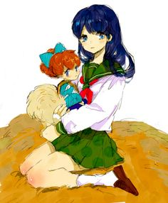 Kagome and Shippo
