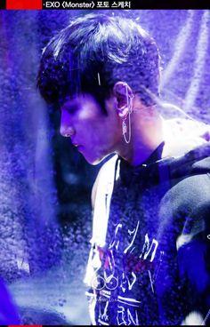 Baekhyun - 160614 SBS Inkigayo website update Credit: SBS. (SBS 인기가요)