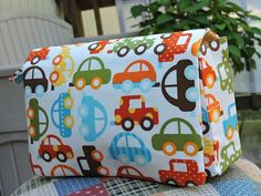 Toot toot! This clutch is for your future car enthusiast 🚗🚕🚙