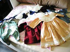 Konvolut alte Puppenkleidung Dachbodenfund Haushaltsauflösung ca Gr. 50 - 56…